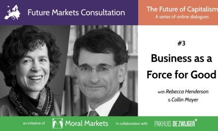 The Role of Business as a Force for Good – Recording of & Report on the Live Cast Now Available