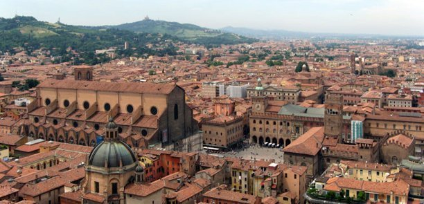 View on Bologna
