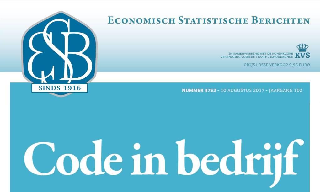 Code in Bedrijf – ESB Themanummer over de Nederlandse Corporate Governance Code