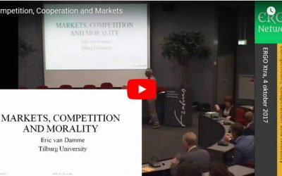 Markets, Competition and Morality