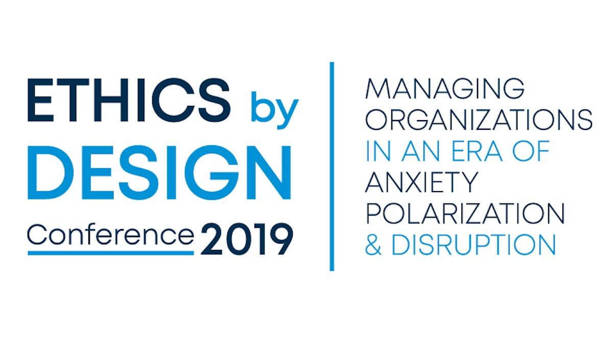Banner of the Ethics by Design Conference