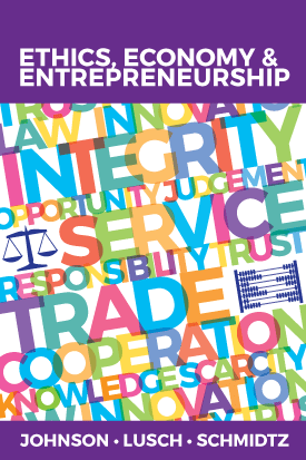 Book Cover: Ethics, Economy, and Entrepreneurship (2016)