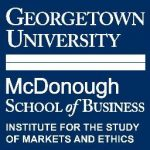 logo of the Georgetown Institute for the Study of Markets and Ethics