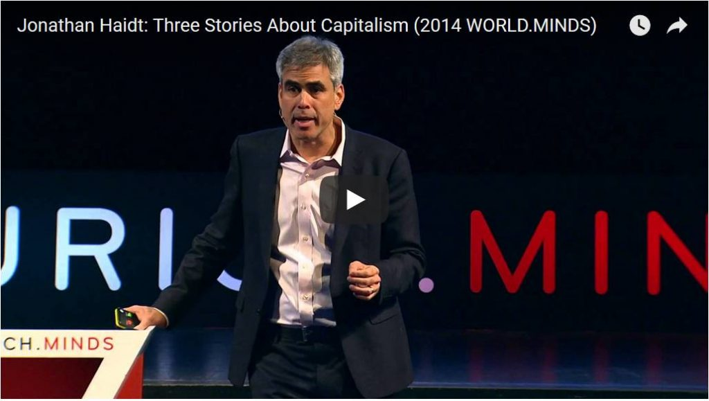 Three Stories about Capitalism