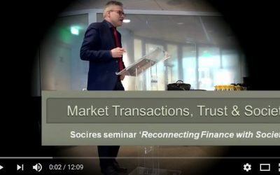Market Transactions, Trust and Society