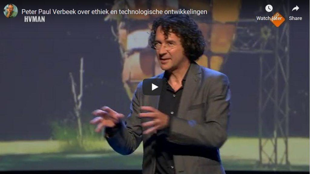 Hedendaagse techniekfilosofen: Peter-Paul Verbeek