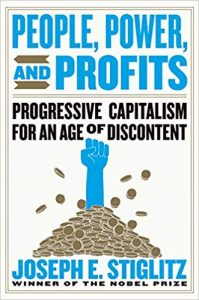 Boek Cover People, Power, and Profits; Progressive Capitalism for an Age of Discontent (2019)