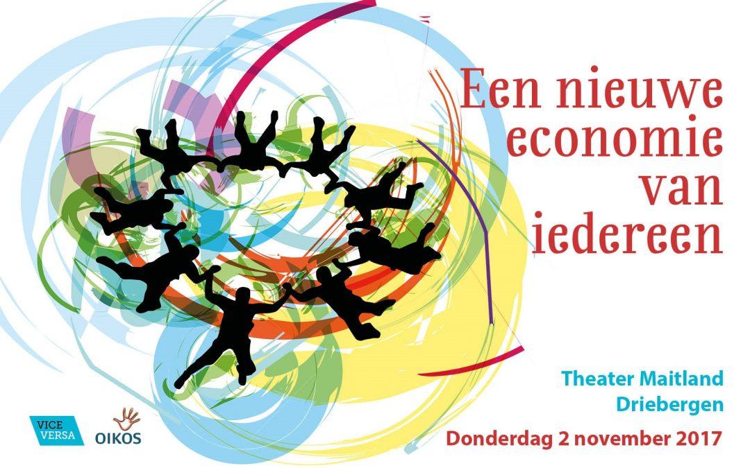 Promo banner een nieuwe economie van iedereen