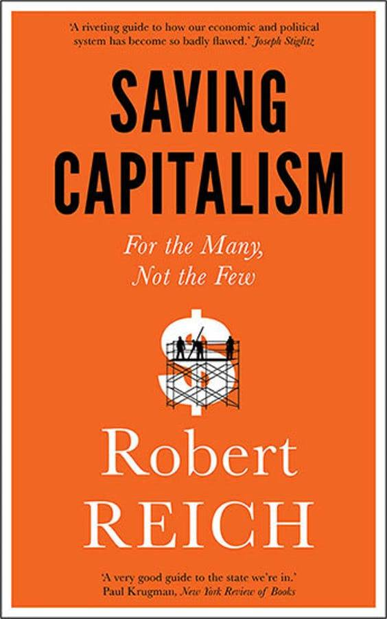 cover of 'saving capitalism'