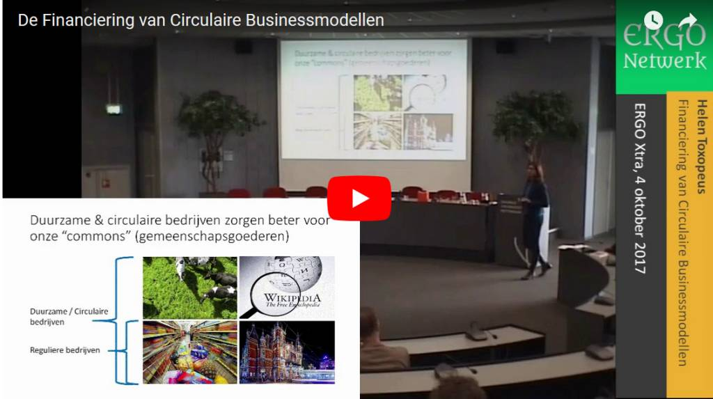De Financiering van Circulaire Businessmodellen