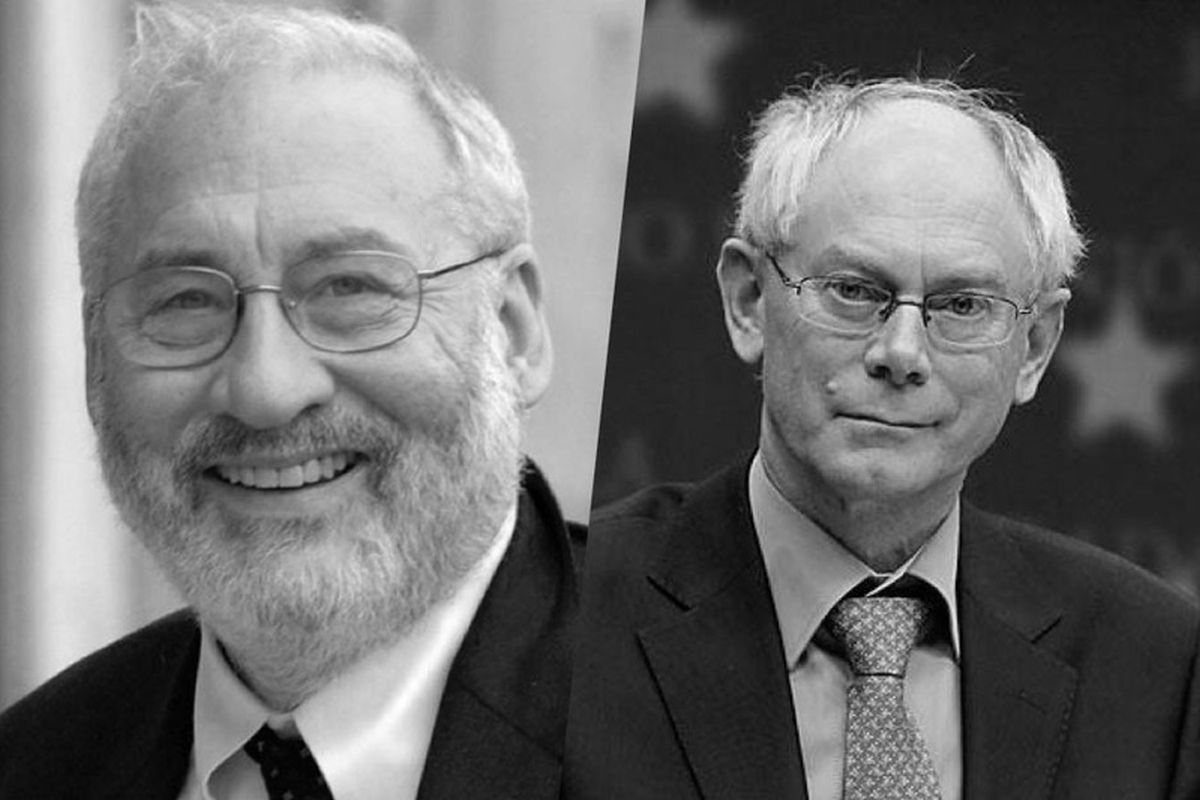 Joseph Stiglitz and Herman Van Rompuy in dialogue on the future of capitalism