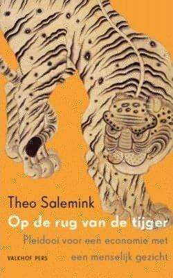 kaft van 'op de rug van een tijger'