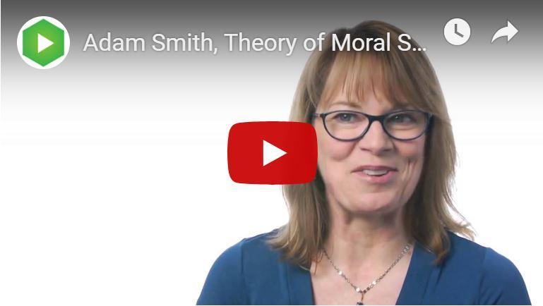 Adam Smith's 'Theorie van de Morele Gevoelens'