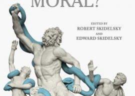 are markets moral? cover