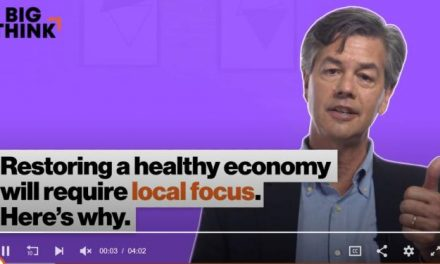 Restoring a Healthy Economy Will Require a Local Focus. Here's Why.