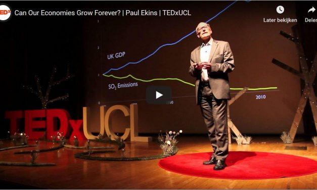 Economische Groei; 4 TEDx Praatjes