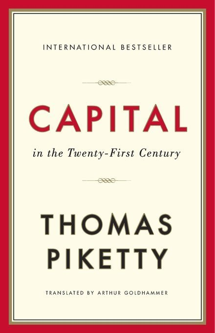 capital in the 21st century cover
