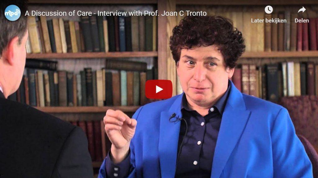 Joan Tronto over zorg in onze marktsamenleving