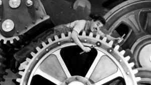 Charli Chaplin in 'Modern Times'