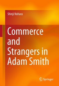 Boek Cover Commerce and Strangers in Adam Smith (2018)