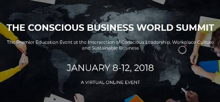 banner of the conscious business world summit