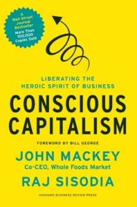 cover of conscious capitalism
