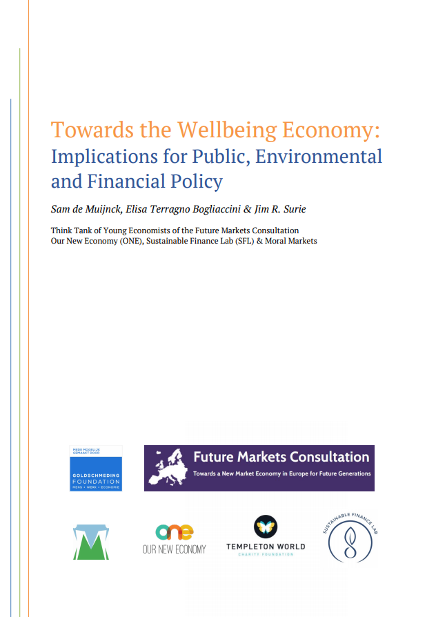 Towards the Wellbeing Economy: Implications for Public, Environmental and Financial Policy