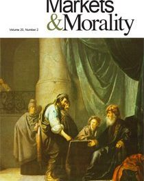 Journal of Markets & Morality (vol. 20, no. 2)