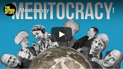 Het ideaal van de meritocratie