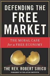 cover of 'defending the free market'
