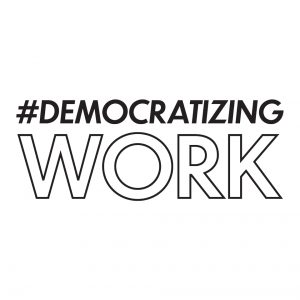Democratizing Work Initiative logo