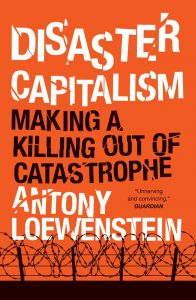 Cover of 'Disaster Capitalism'