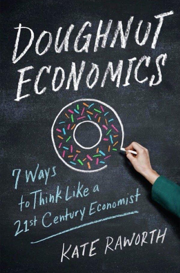 Covr of Doughnut Economics