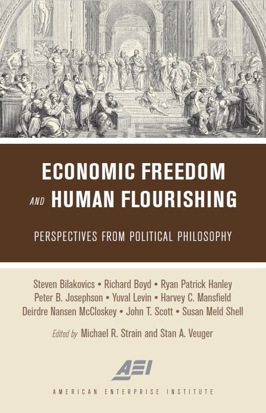 Economic Freedom and Human Flourishing - Cover