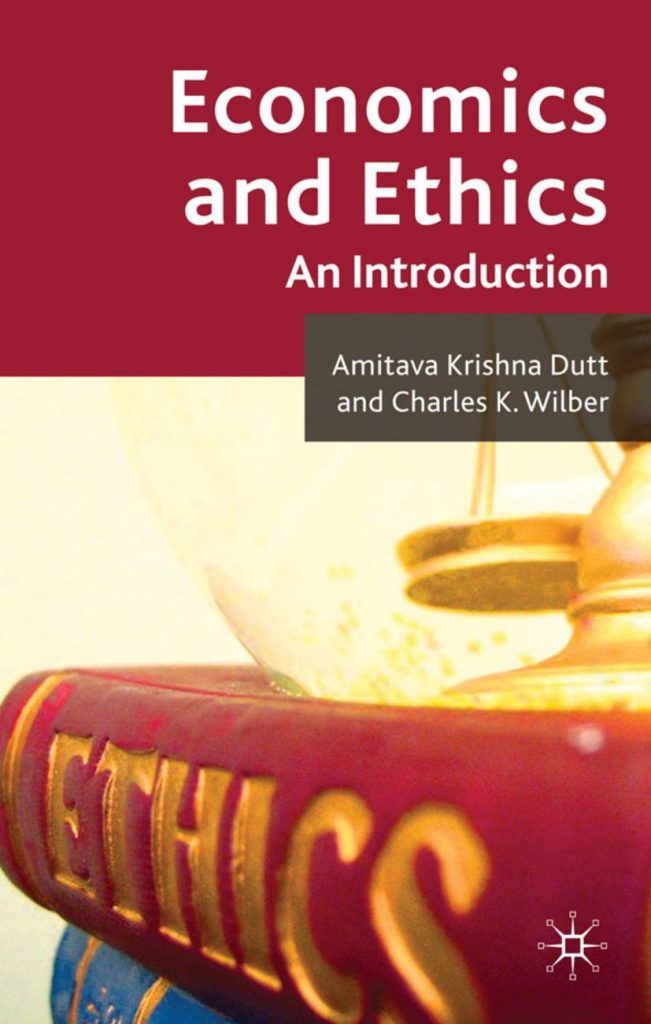 cover of 'economics and ethics; an introduction'