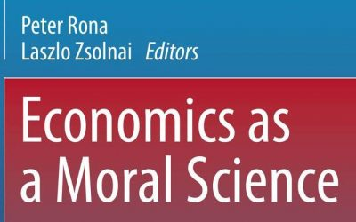 """""""Economics as a Moral Science"""" – New Book"""