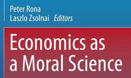 """Economics as a Moral Science"" – New Book"
