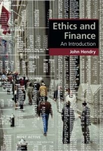 Ethics and Finance; An Introduction
