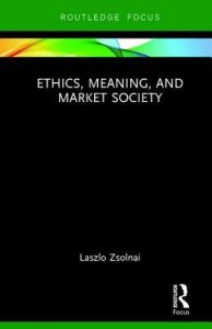 ethics, meaning and market society book cover