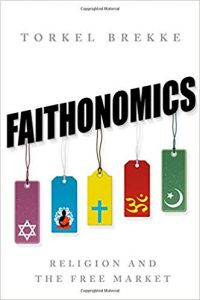 Boek Cover Faithonomics; Religion and the Free Market (2016)