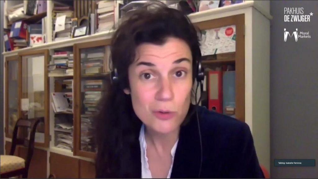 Sociologist Isabelle Ferreras