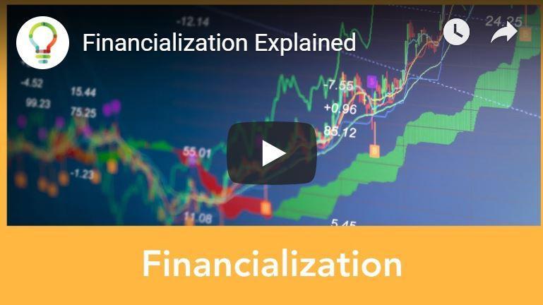 De financialisering van de economie
