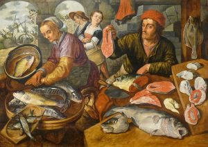fish market in the eighteenth century