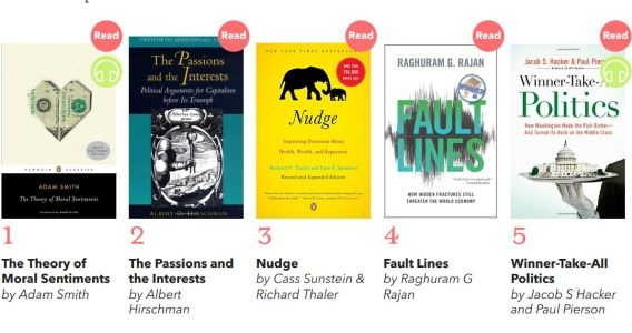 The Best Books on Capitalism and Human Nature (Recommended by Robert J Shiller)