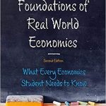 "New on Our Bookshelf: ""Foundations of Real-World Economics"""