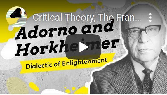 De Frankfurter School over de culturele industrie