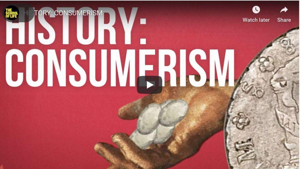 De geschiedenis van de consumptiemaatschappij