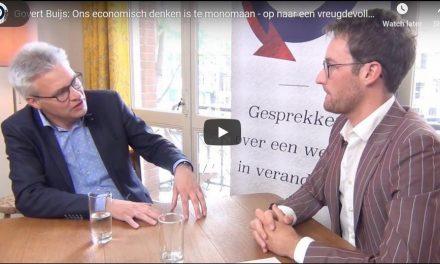 """""""Ons Economisch Denken Is te Monomaan – Op naar een Vreugdevolle Economie"""""""