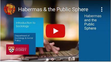 De publieke sfeer van Jürgen Habermas