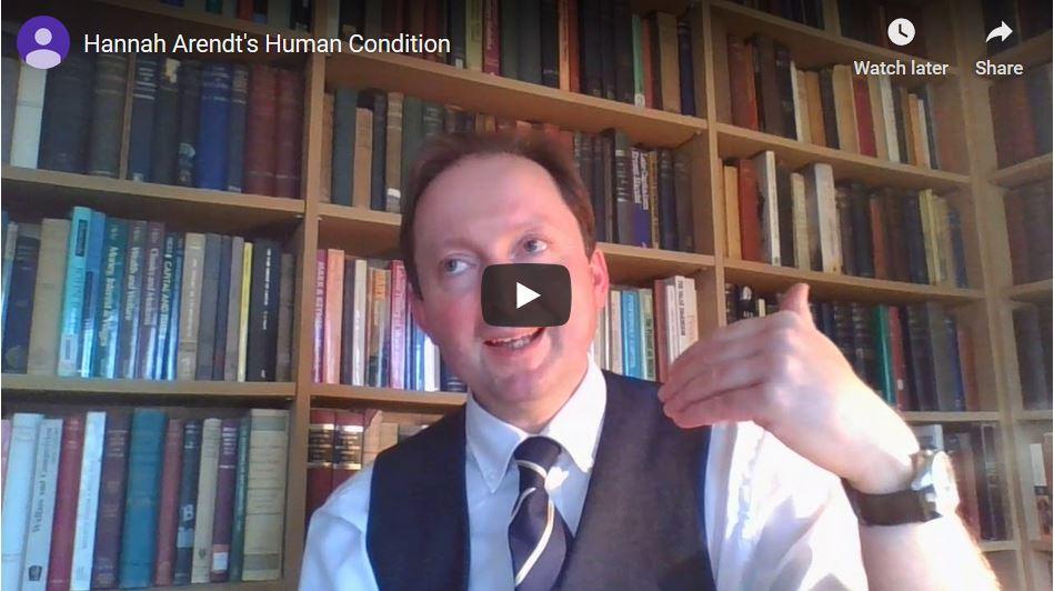 Hannah Arendt over de menselijke conditie